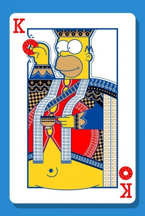 荷马辛普森扑克牌