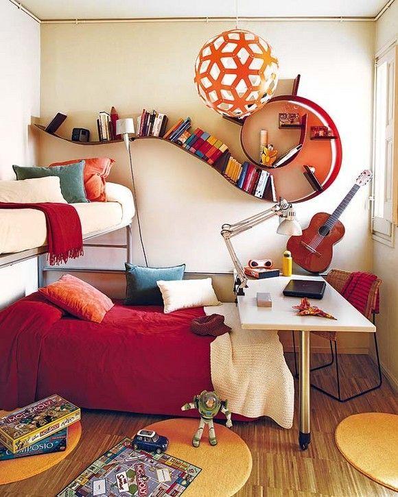 小生活空间的想法。