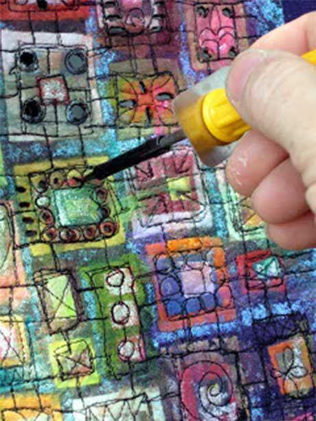 """如果你喜欢Susan Lenz的作品,那么你会非常喜欢这本纤维艺术教程,该教程将详细介绍她如何创作她的""""In Box""""系列纤维艺术作品"""