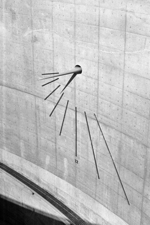 turnof-century: Tadao Ando's sundial on awaji island , 2005