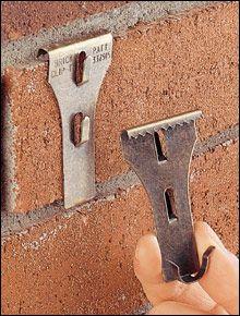 砖夹 - 挂在砖上,无需钻孔!
