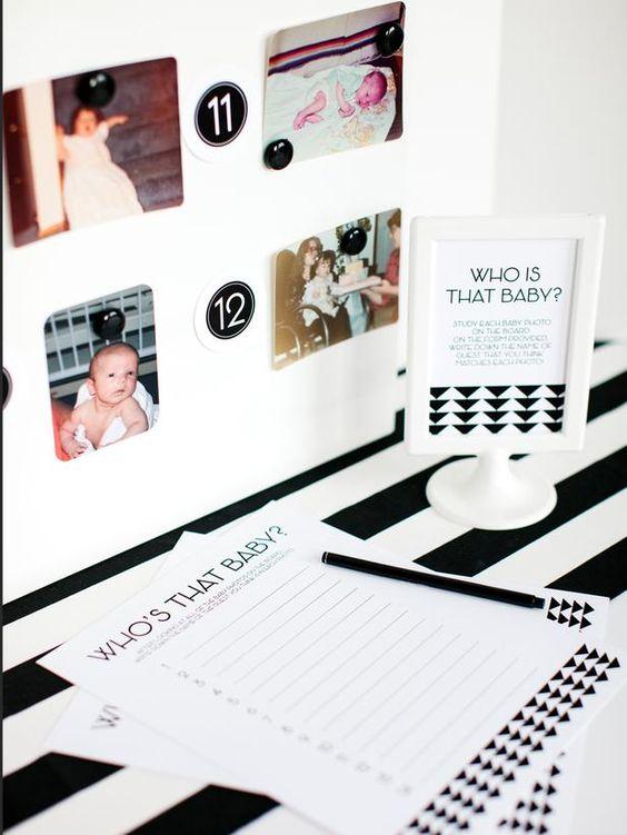 DIY网络有游戏创意和可打印的记分卡,使计划婴儿淋浴轻松有趣。