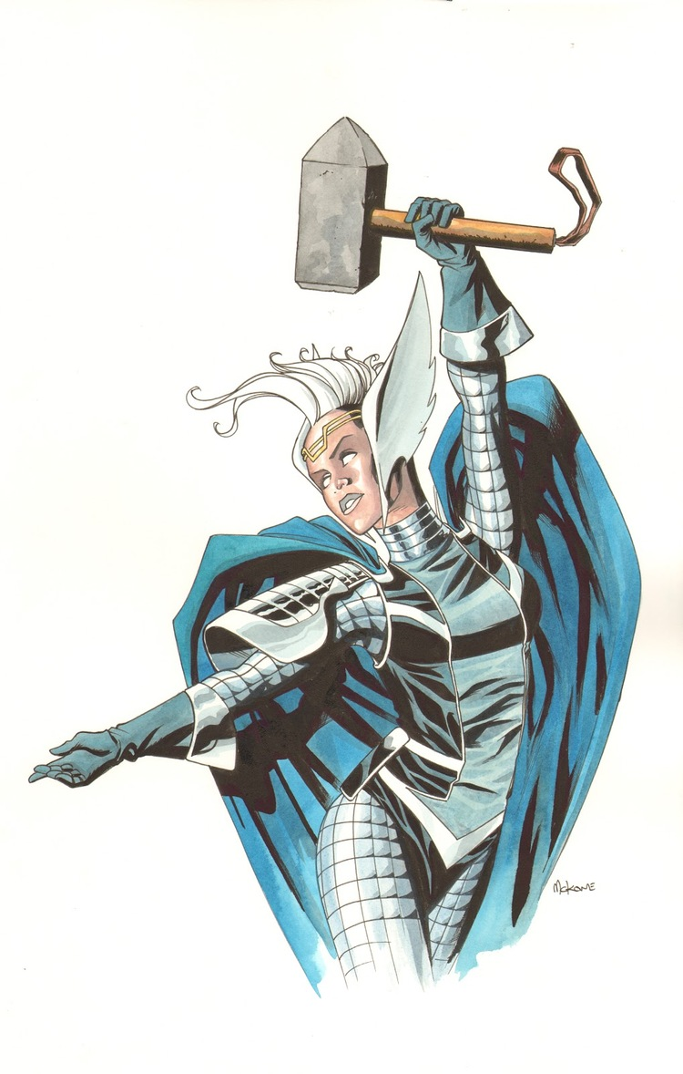 Asgardian Storm by Mike McKone