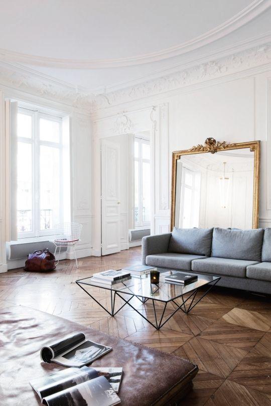 众议院之旅:巴黎19世纪的公寓 -  Vogue Living