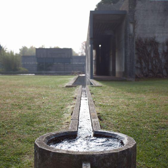 布里昂公墓Carlos Scarpa图片来自:Matteo Brancali