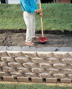 如何建造挡土墙