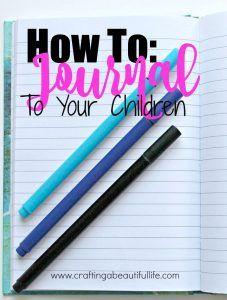 如何在日记中写下关于记忆,智慧和生活的信件给孩子们。一本分享童年记忆的书构成了你的视角。