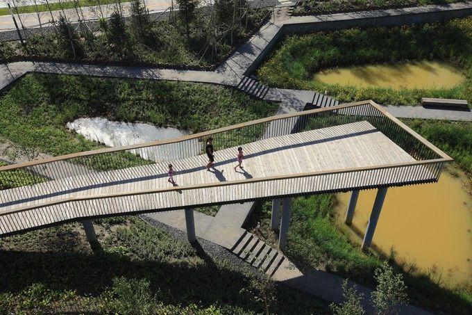 群力雨水湿地公园/ Turenscape