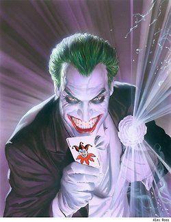 The Joker (pinup by Alex Ross)