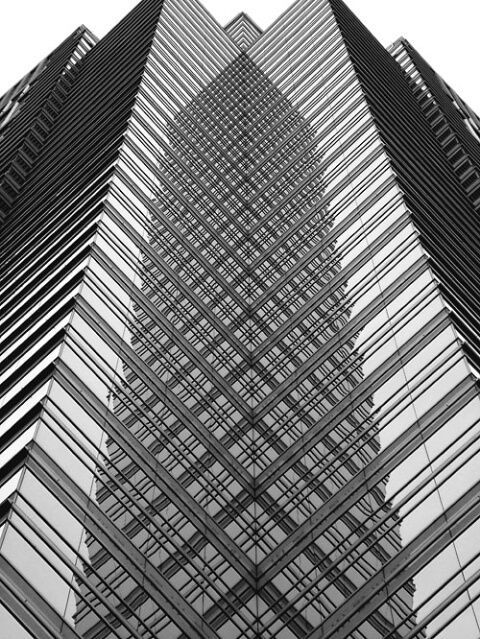One Liberty Place, Philadelphia. Architect: Helmut Jahn of Murphy/Jahn. Completed 1990.