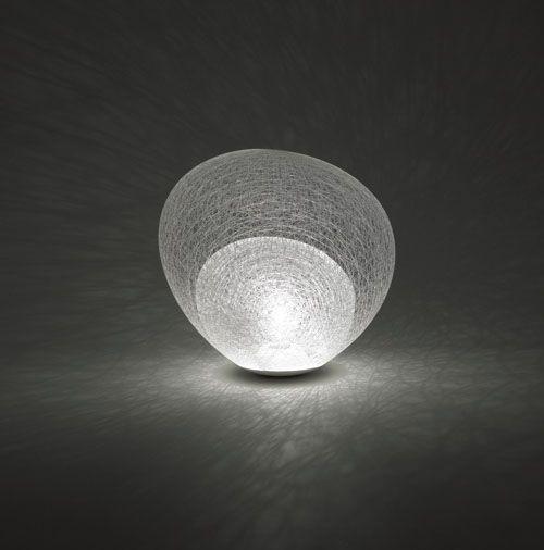 Spun fibre lamp, Toyo Ito.