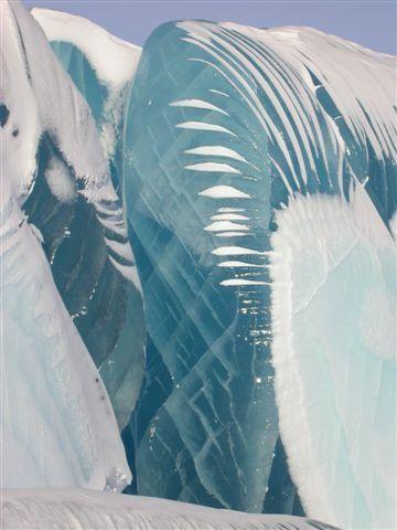 Antarctica frozen wave.