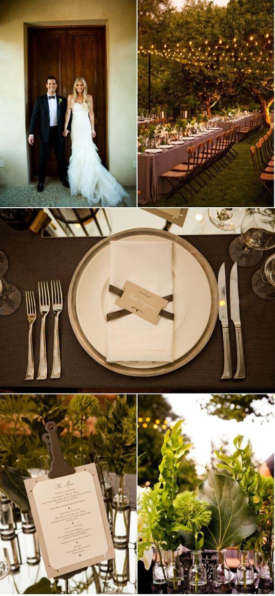 纳帕谷婚礼由Rosemary活动+ Abby Ross摄影