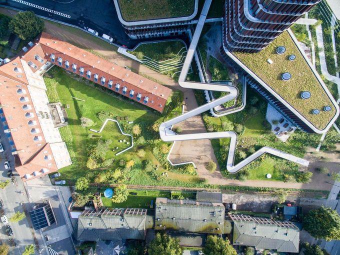 Mærsk Tower and SLA Wins Scandinavian Award For Green Roofs | Copenhagen, Denmark | Landezine