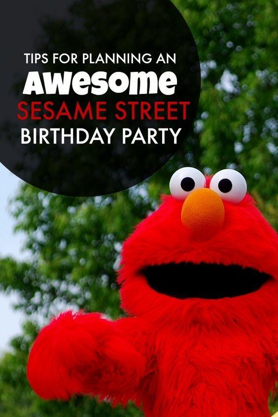 什么是最喜欢的儿童秀?成为最受欢迎的派对主题?这是芝麻街派对!