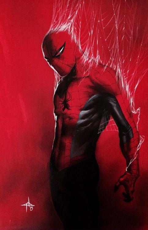 Gabriele Dell'Otto的蜘蛛侠。