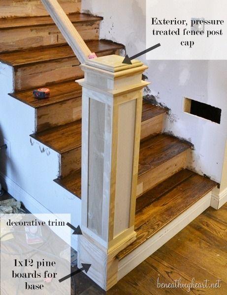 今天,我想向你们展示我们如何为我们新的楼梯建立我们的新岗位。如果你长时间关注我的博客,你就会知道我喜欢为我们的新家增添古老的房屋特色和魅力。我们一直在为我们的家创建一个两层楼的故事...了解更多关于如何建立一个Newel邮政