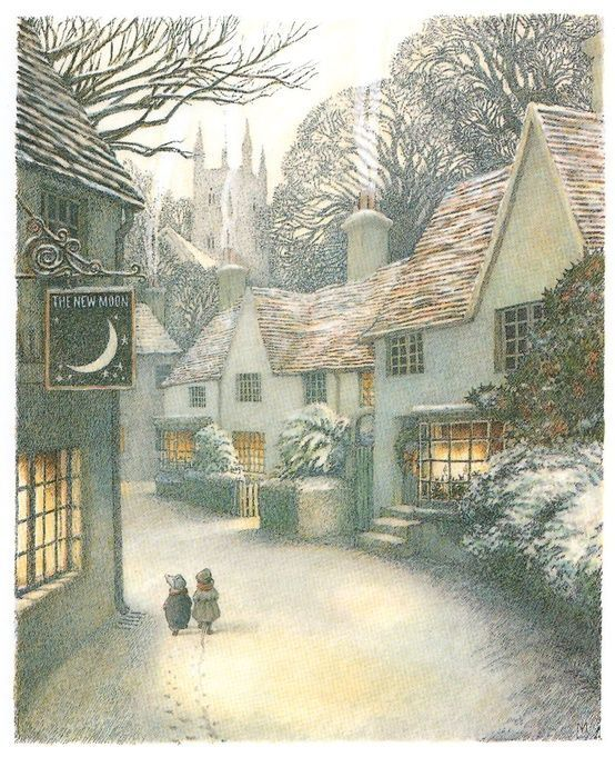 The Wind in the Willows ~ Illustrated by Inga Moore