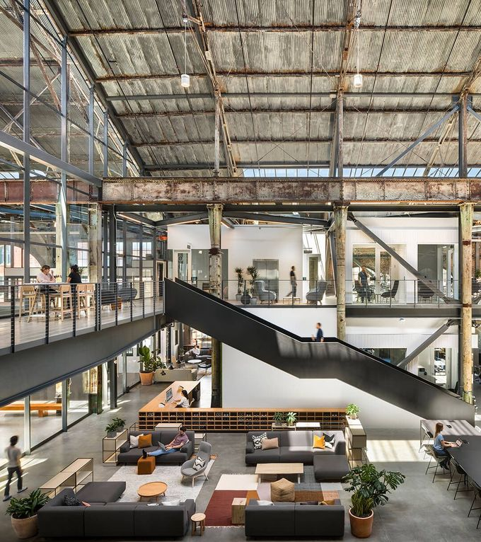 This is what an office designed by its employees looks like - News - Frameweb