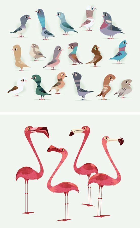 ...birds by James Gilleard.