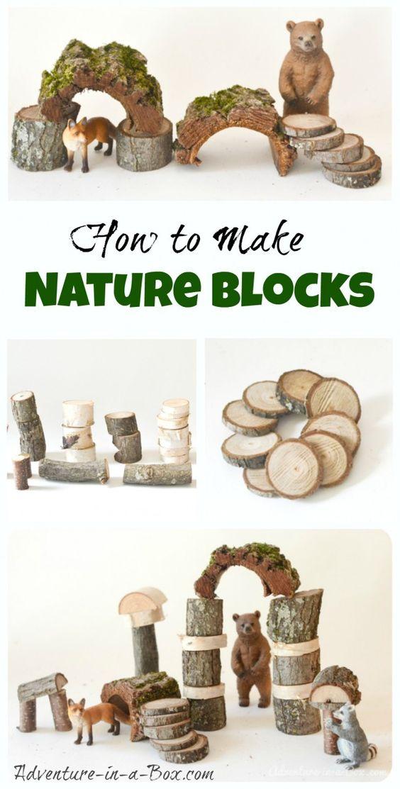 我们一直都很欣赏沃尔多夫积木的质朴外观,这里是我的DIY教程,介绍如何为您的孩子建造一系列自然景观。