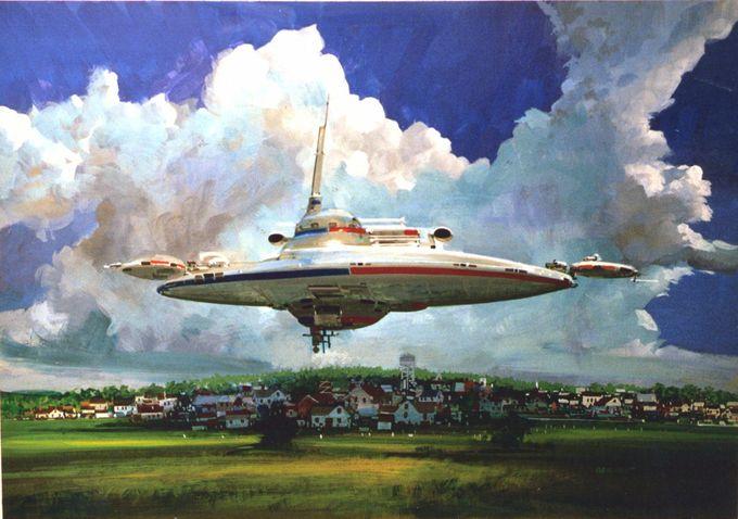 John Berkey art