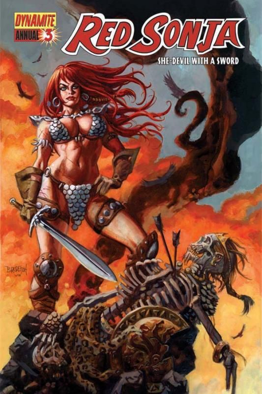 Red Sonja by Dan Brereton
