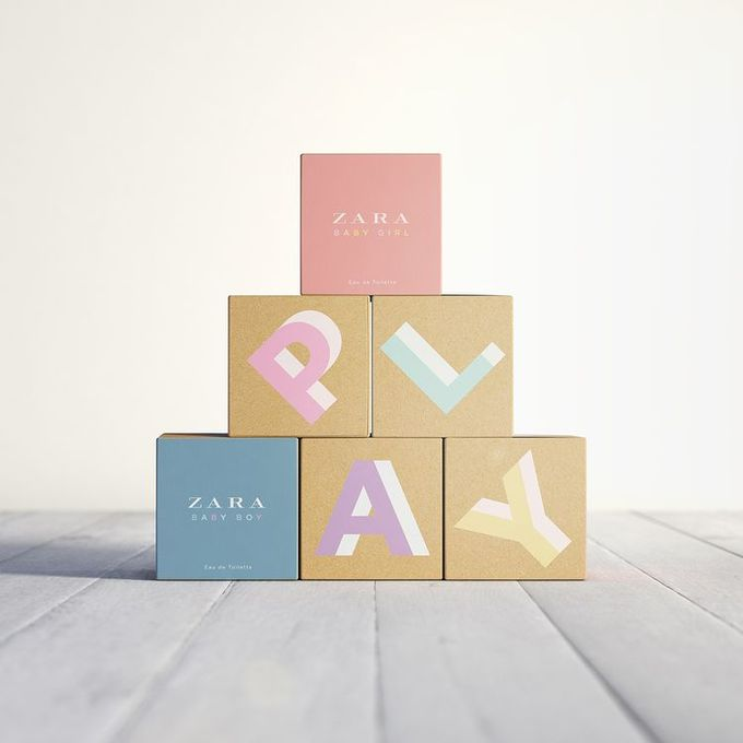Pastel + Craft for Zara Play for babies