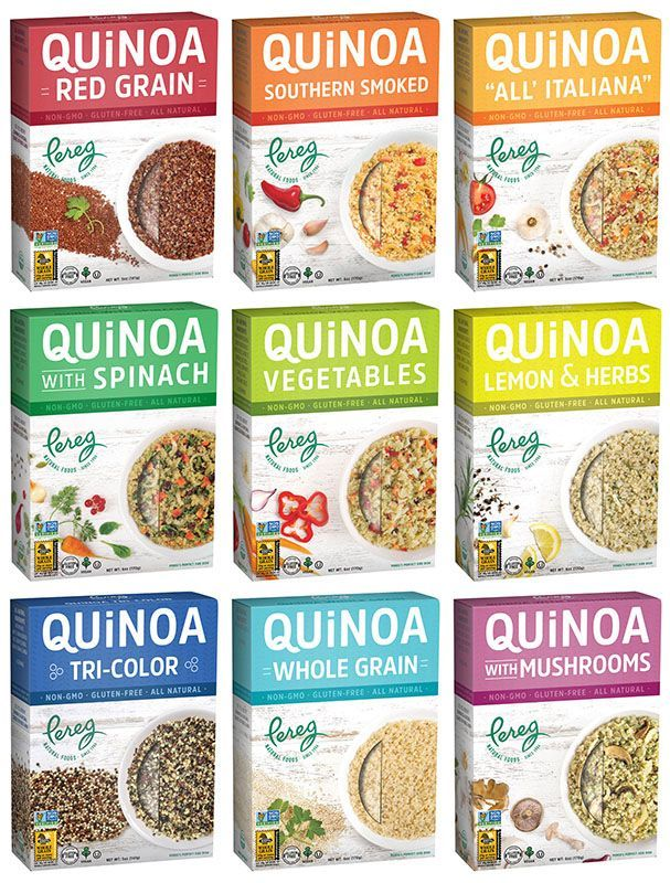 PEREG GOURMET OFFERS EXTENDED LINE OF QUINOA VARIETIES, PROVIDING THE PERFECT SIDE DISH TO ENHANCE ANY MEAL WITH FLAVOR & COLOR NINE VARIETIES IN NEW, 6 OZ BOXES ARE: ▪GLUTEN... Read the full article ›