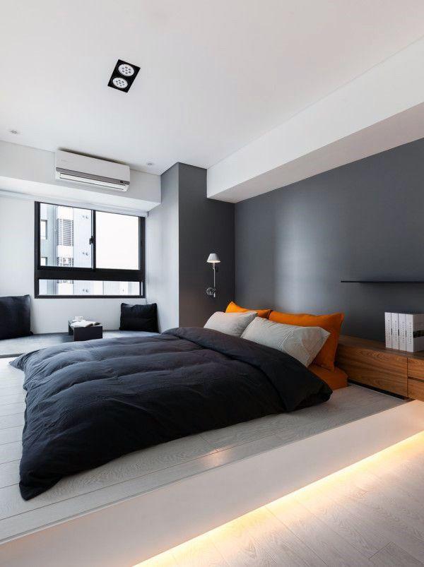 11+令人敬畏和美丽的公寓卧室设计理念