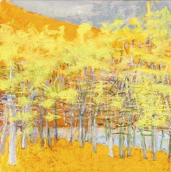 bofransson:Wolf Kahn,黄色风景