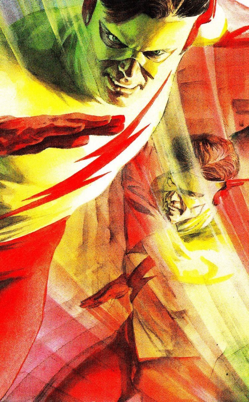 Kid Flash by Alex Ross #DC #Comics #ComicBooks #Flash