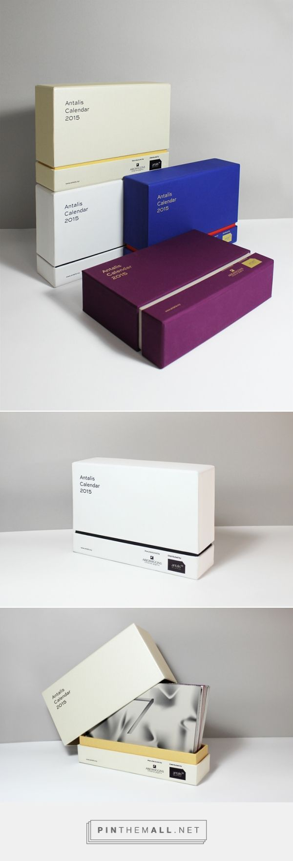 Antalis Calendar 2015 on Behance by Karming Somethingwong, Kuala Lumpur, Malaysia curated by Packaging Diva PD. Antalis calendar packaging 2015, Malaysia.