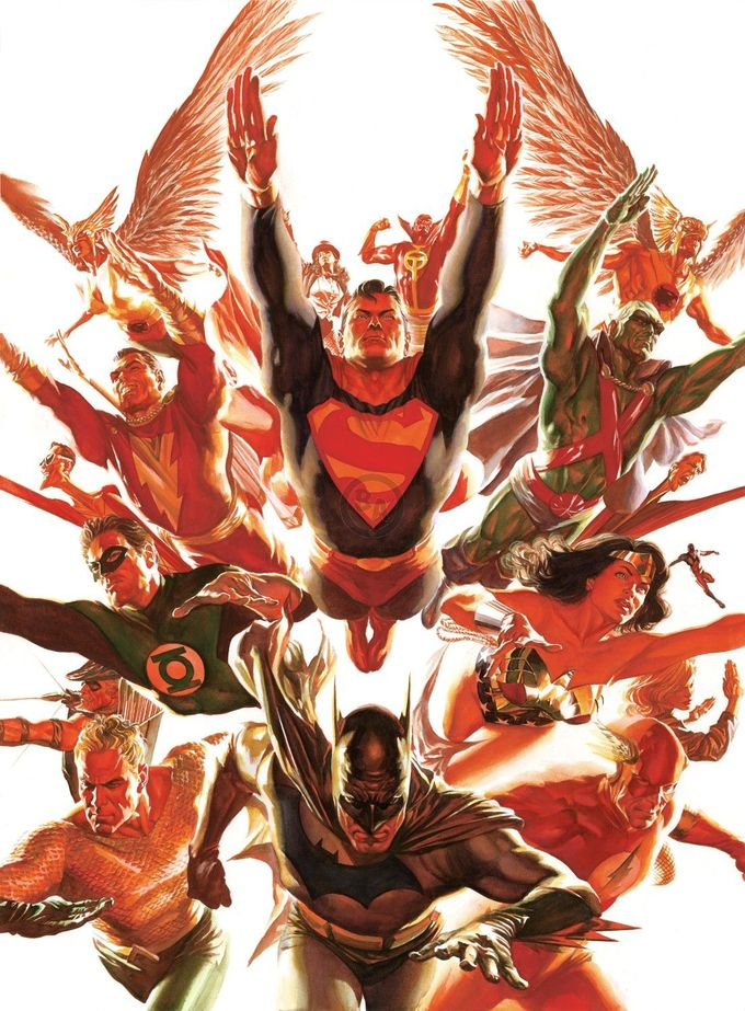 Image result for aquaman alex ross twitter