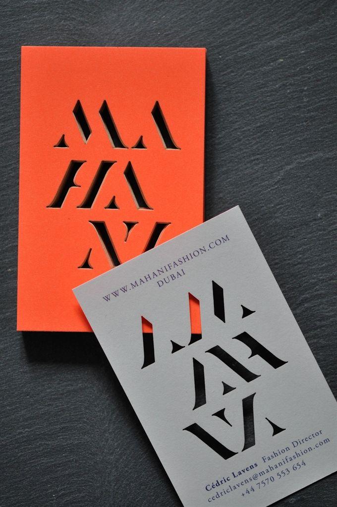 Business cards MAHANI | #Business #Card #transparent #creative #paper #bizcard #businesscard #corporate #design #visitenkarte #corporatedesign < repinned by www.BlickeDeeler.de | Visit our website www.blickedeeler.de/leistungen/printwerbung3/visitenkarten