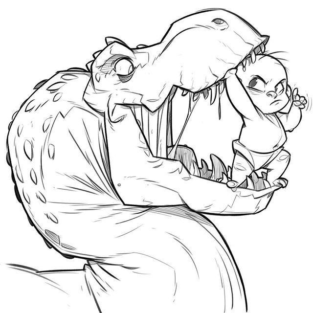 Bad T-Rex.