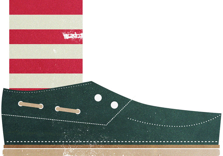 Boat Shoe Illustration