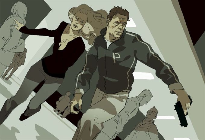"""""""The Next Three Days"""" review in the New Yorker. By Tomer Hanuka"""