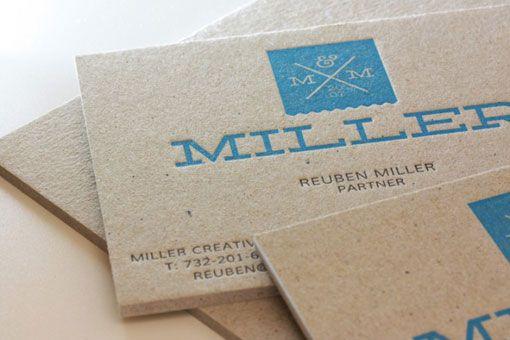 Miller Creative: Business Cards