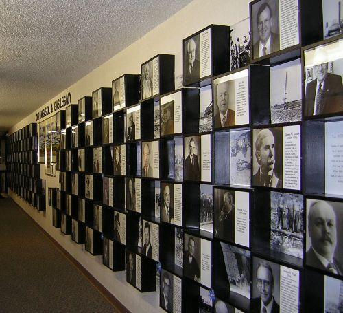 Kansas Oil Museum display