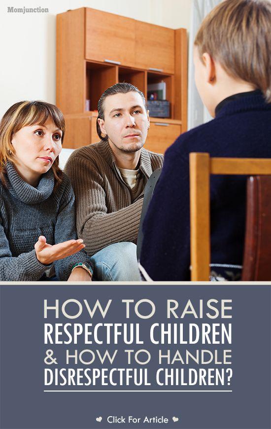 孩子在不喜欢的时候可能是不尊重的。想知道如何应对不敬的孩子和教学方面的尊重吗?请在这里了解!