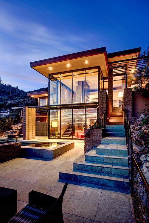 Modern home | architecture | design | home | house | dream house | modernism | m...