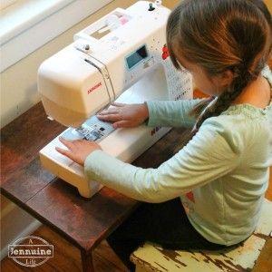 小小的缝纫师:教孩子们缝制儿童缝纫的安装和安全