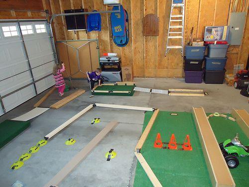 Golf Par-Tee后院迷你高尔夫球场灵感