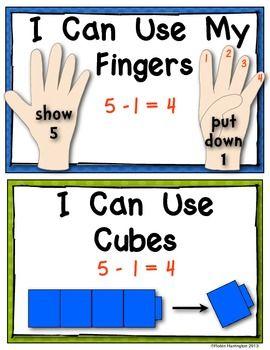 你正在接受10个不同的数学海报,以帮助年轻学生解决减法问题。非常适合数学工作坊/工作站或您的数学字墙的迷你课程。对Common Core指令的良好支持。所有解决问题的策略都在一页上作为一个数学工具表在数学时间使用。