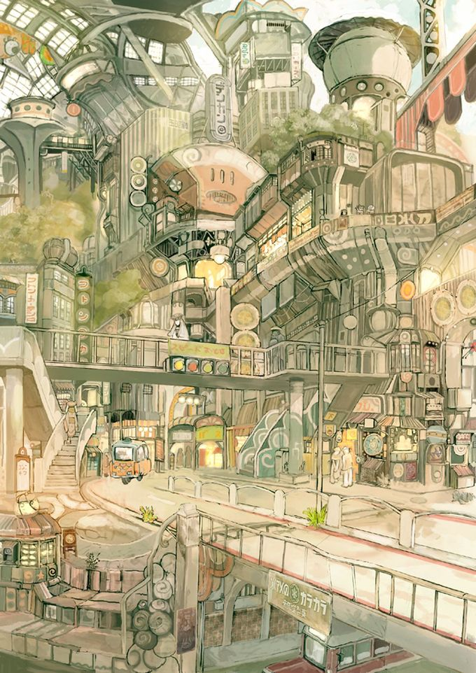 The Art Of Animation, TekkonKinkreet by Imperial Boy (Teikoku Shounen)