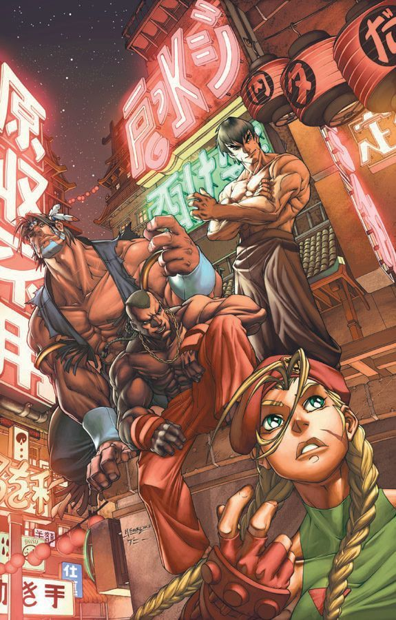 Street Fighter by Mark Brooks