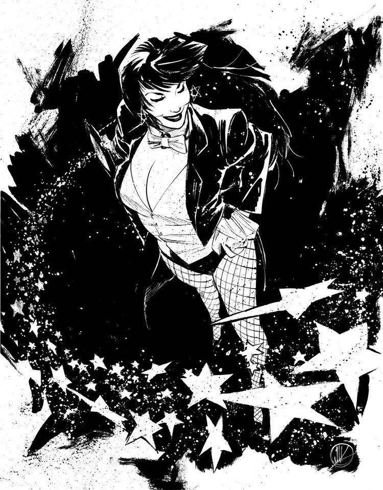 birdstump: Zatanna, by Matteo Scalera