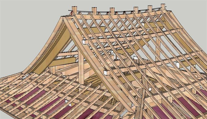 Image result for japanese roof style plans