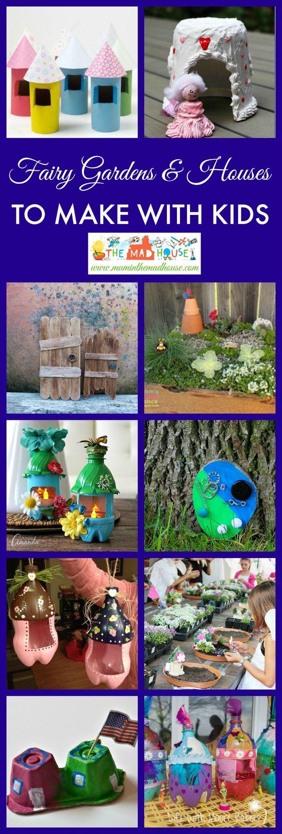 超过30个神话般的童话屋和花园。受到这些惊人的DIY工艺的启发,将仙女的魔力带入您的花园。